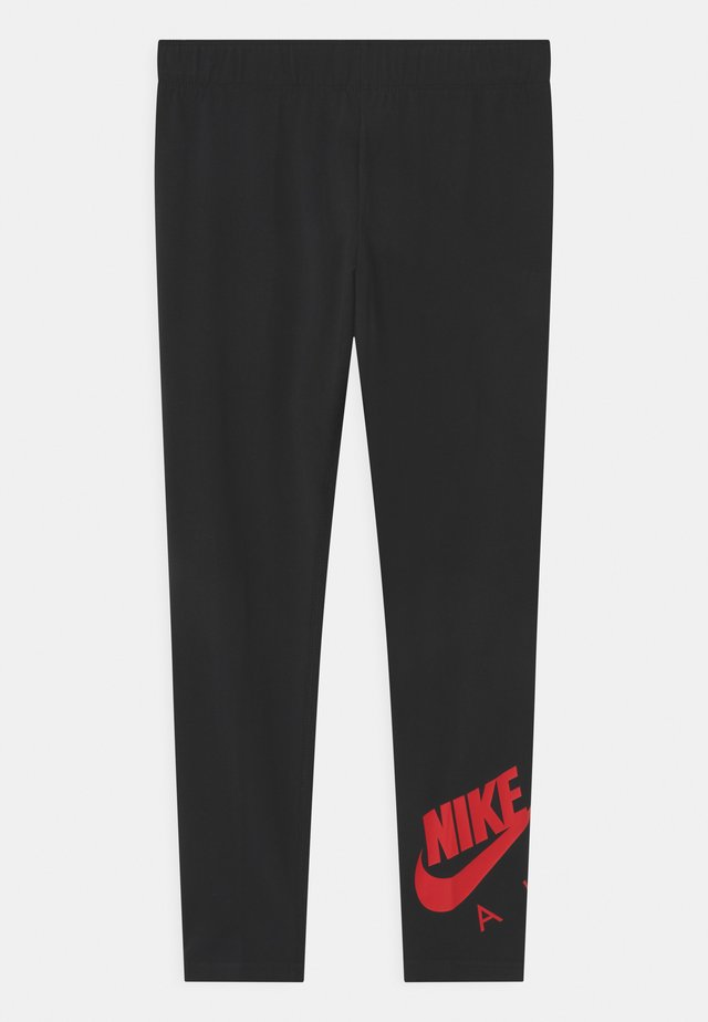 FAVORITES - Leggings - Trousers - black/university red