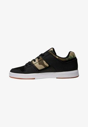 Sneakers laag - black/camo