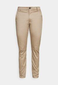 Selected Homme - SLHSLIM BUCKLEY FLEX PANTS - Tygbyxor - chinchilla - 3