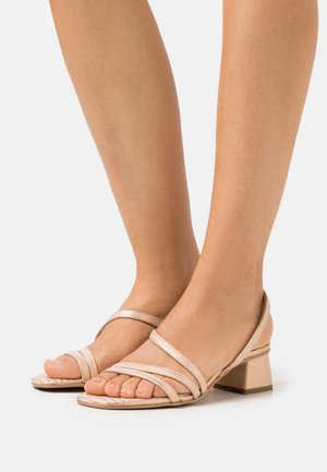 ERICA NEW - Sandals - chemi brass