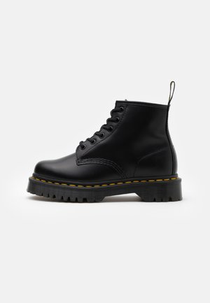 101 BEX - Lace-up ankle boots - black smooth