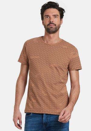 TANNER - Print T-shirt - brown