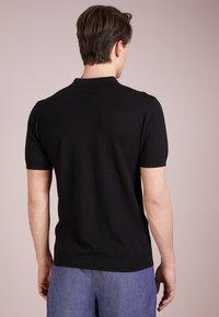 Bruuns Bazaar - GERHARD - Polo shirt - black - 2