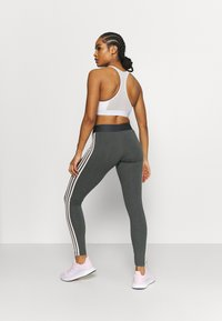 adidas Performance - Pantaloni sportivi - grey/pink - 2