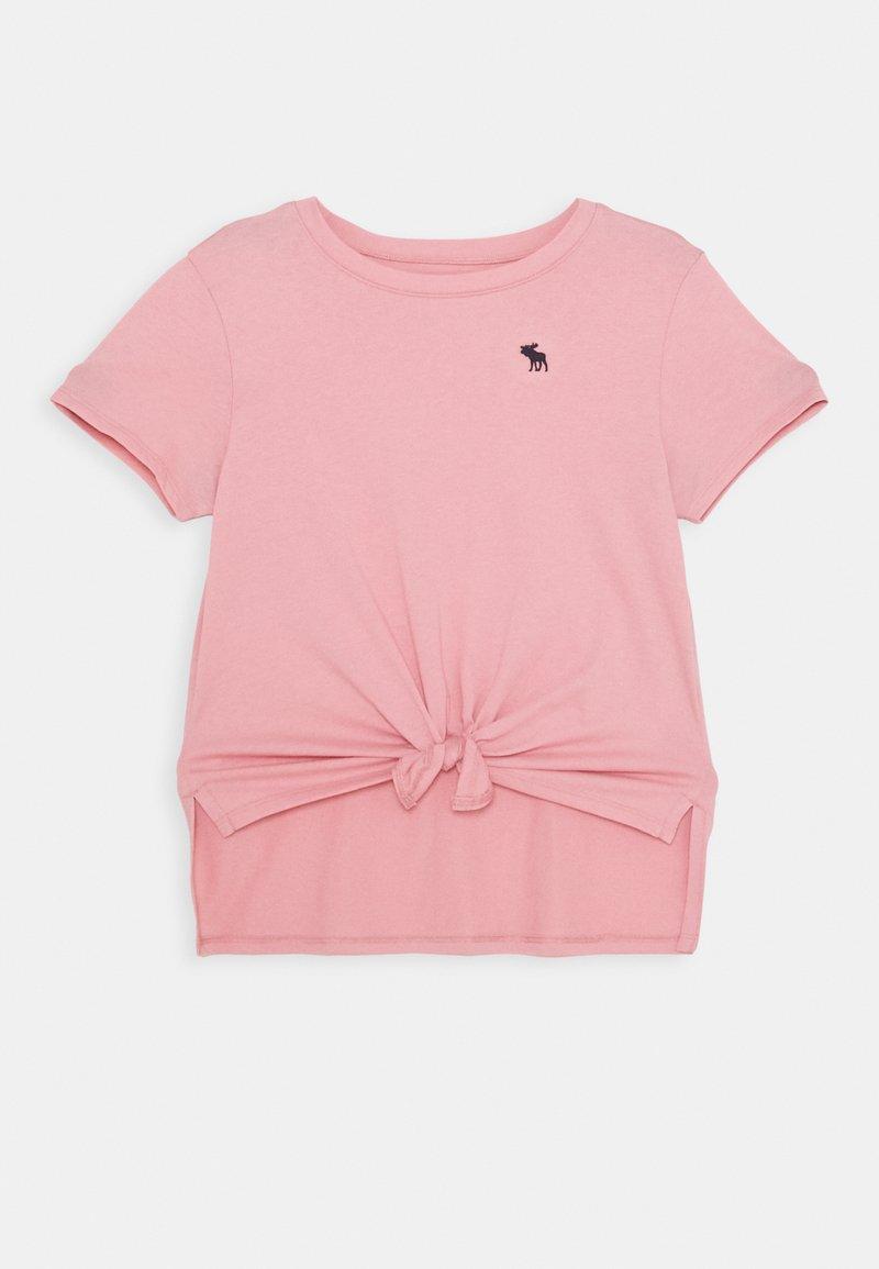 Abercrombie & Fitch - Camiseta básica - blush