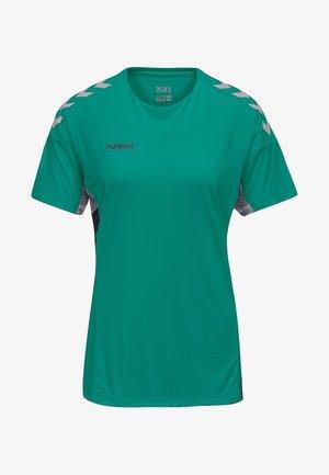 TECH MOVE - Print T-shirt - green
