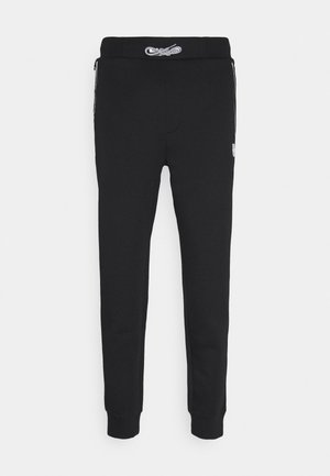 DOX  - Tracksuit bottoms - black