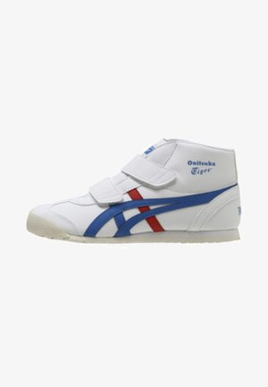MEXICO MID RUNNER PS - Höga sneakers - white/ blue