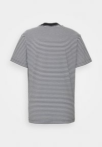 Obey Clothing - IDEALS STRIPE TEE - Print T-shirt - black - 1