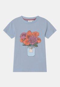 The New - TORI - Print T-shirt - brunnera blue - 0