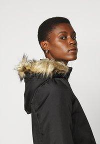Noisy May Tall - NMOCTAVIA LONG JACKET - Winter coat - black - 5