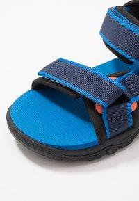 Jack Wolfskin - SEVEN SEAS 3 UNISEX - Chodecké sandály - blue/orange - 2