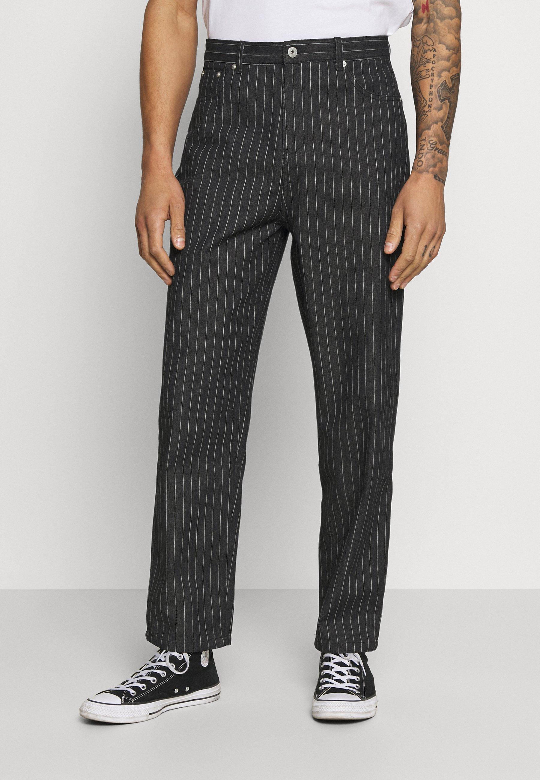 Men PIN STRIPE TROUSERS - Trousers