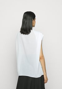 3.1 Phillip Lim - CAP SLEEVE BLOUSE - Button-down blouse - white - 2