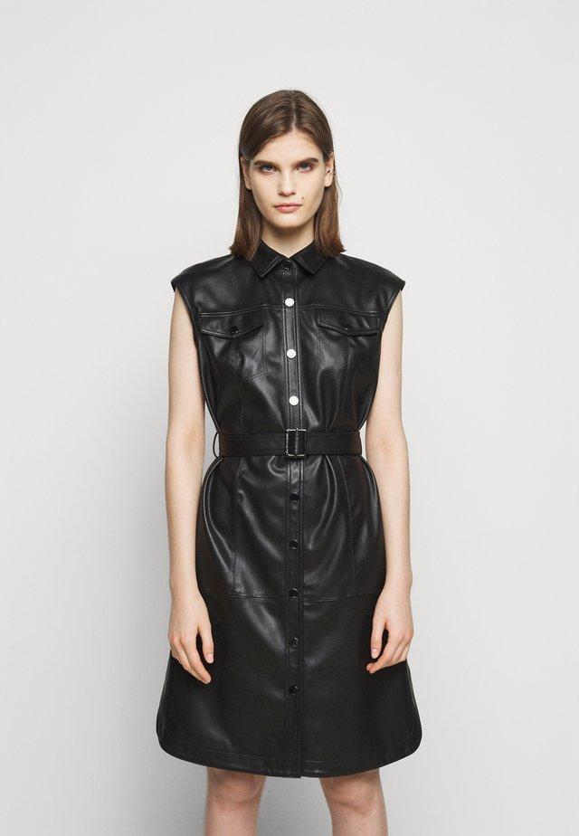 DRESS - Sukienka koszulowa - black