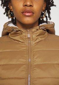 ONLY - ONLNEWTAHOE CONTRAST HOOD JACKET  - Light jacket - toasted coconut/pumice stone - 4