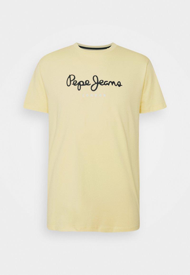 Pepe Jeans - EGGO  - T-shirt med print - sorbet lemon