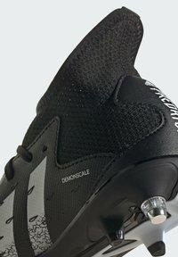 adidas Performance - PREDATOR - Moulded stud football boots - black - 7