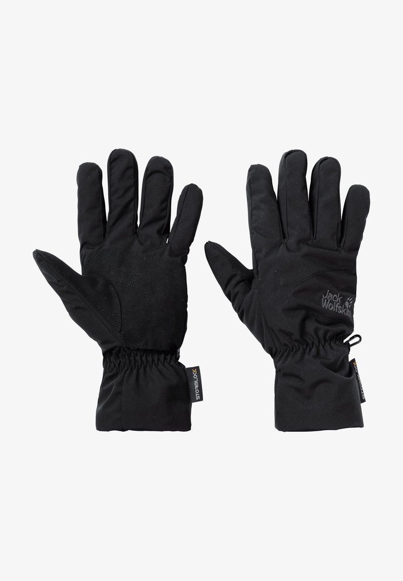 Jack Wolfskin - STORMLOCK HIGHLOFT  - Gloves - black