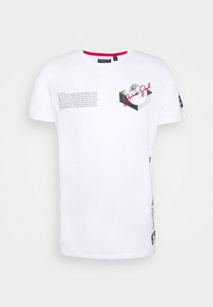 VOID - Print T-shirt - optic white