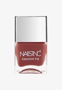 Nails Inc - FASHION FIX - Nail polish - terracotta – just dropped - 0