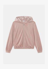 Lindex - HOODIE SABINA - Zip-up hoodie - dusty pink - 0