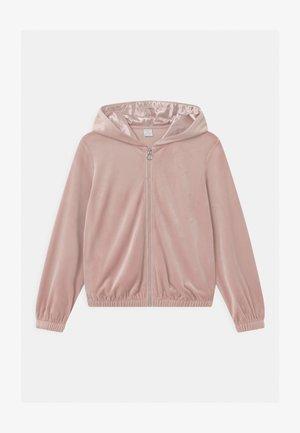HOODIE SABINA - Mikina na zip - dusty pink