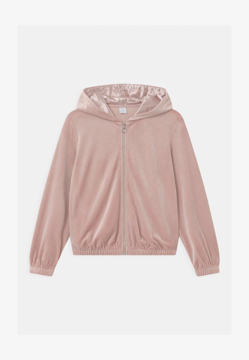 Lindex - HOODIE SABINA - Zip-up hoodie - dusty pink