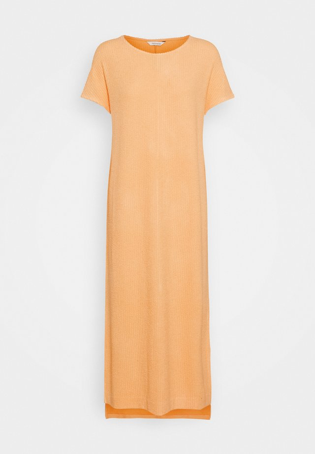GATE DRESS - Jerseyjurk - peach orange
