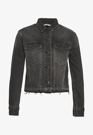 RENNA - Denim jacket - black