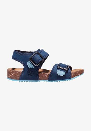 Walking sandals - black iris