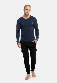 Schiesser Revival - FRIEDRICH - Long sleeved top - blau 15 - 1