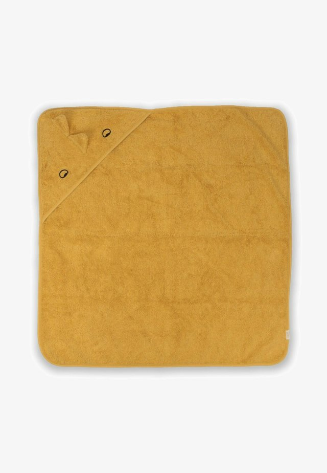 DINOSAUR FIGURED  - Kylpypyyhe - mustard yellow