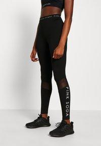 Pink Soda - ROWE LEGGING - Leggings - black - 0
