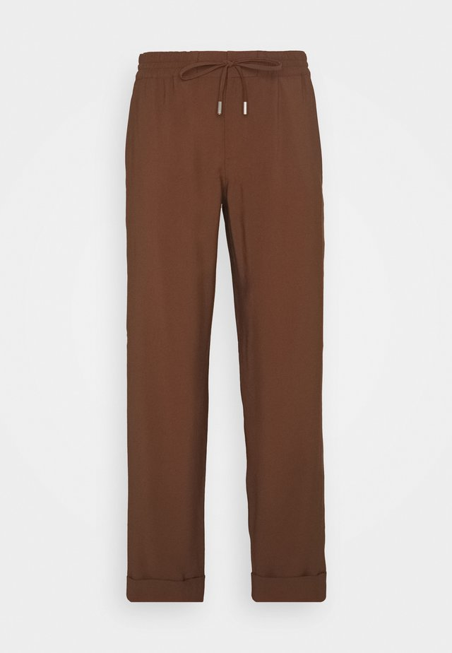MOD. KIBY - Broek - chestnut brown
