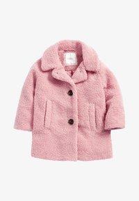 Next - Fleece jacket - mottled pink - 0