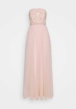 BANDEAU EMBELLISHED MAXI DRESS - Iltapuku - pearl pink