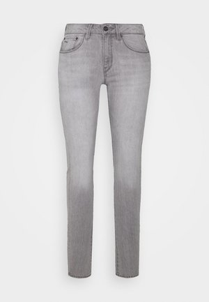 3301 MID SKINNY - Jeans Skinny Fit - sun faded pewter grey