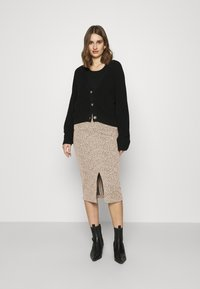 Banana Republic - PENCIL - Pencil skirt - neutral leopard - 1