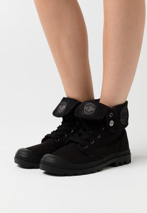 BAGGY - Lace-up ankle boots - black
