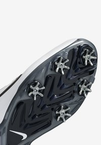 Nike Golf - TIGER WOODS - Golfskor - white/metallic cool grey/pure platinum/black - 6