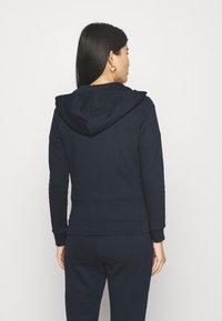 Armani Exchange - FELPA - Zip-up hoodie - navy - 2