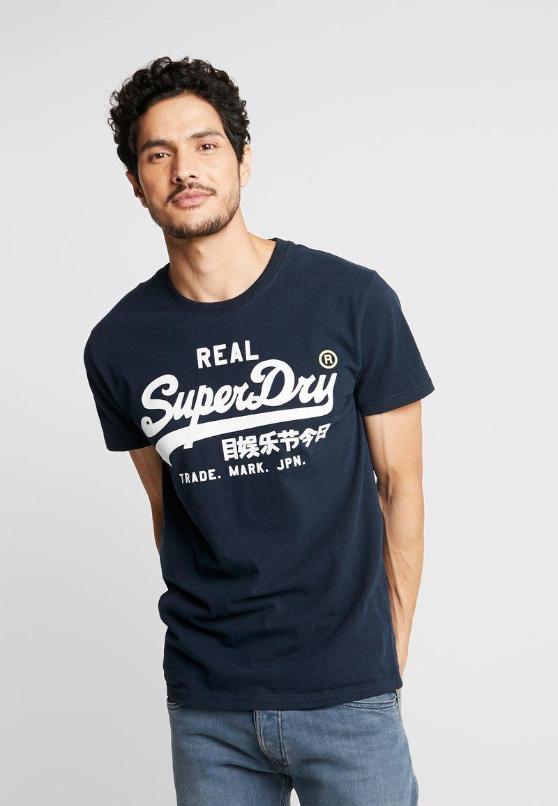 Superdry - TEE - Print T-shirt - eclipse navy