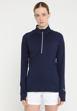 ROTATION ZIP - Sports shirt - peacoat