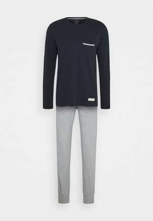 LOUNGE CREW NECK SET - Pyjamas - nachtblau