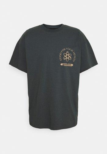 CLINIC OVERSIZE - Print T-shirt - grey