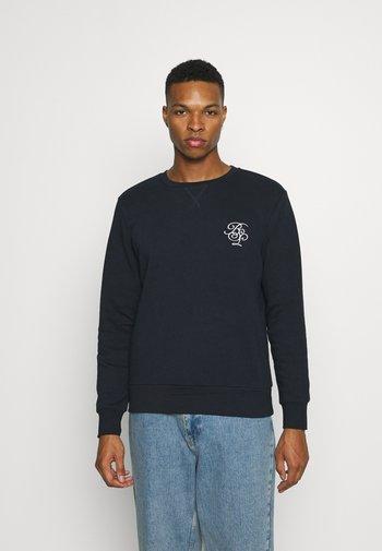 ARTHUR - Sweatshirt - rich navy/optic white