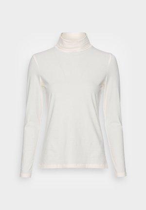 LONGSLEEVE ROLLNECK - Long sleeved top - off white
