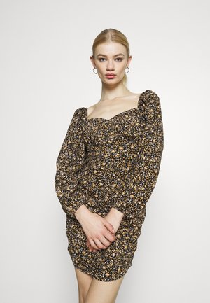 TRANS FLORAL TEA MINI - Denní šaty - mutli