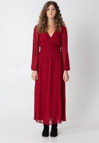 Indiska - VARJA - Maxi šaty - red - 0